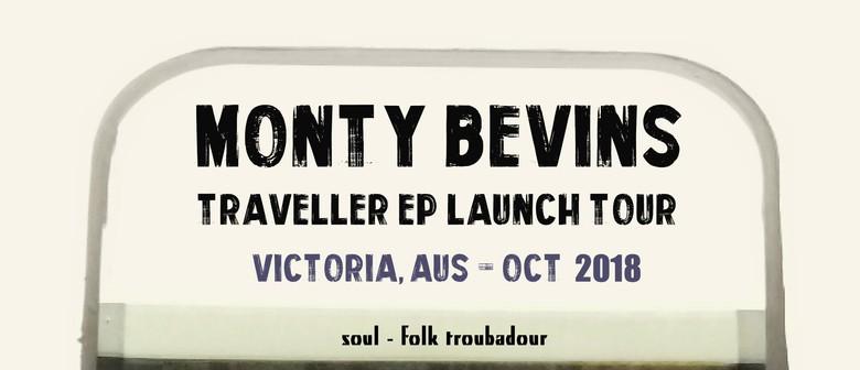 Monty Bevins Traveller EP Launch Tour