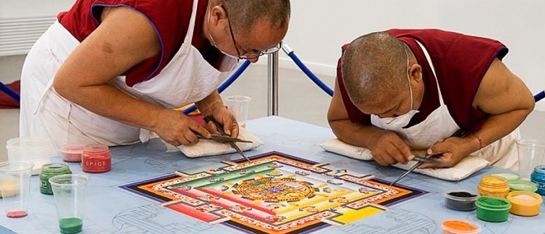 A Tibetan Buddhist Mandala – Sacred Sands of Healing