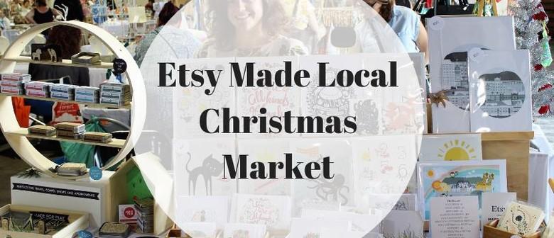 ETSY Made Local Christmas Market