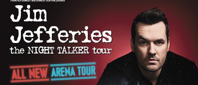 Jim Jefferies – The Night Talker Tour