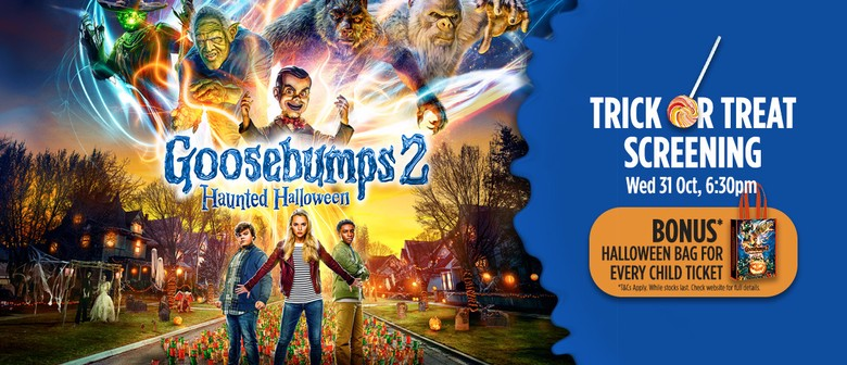 Trick or Treat Screening – Goosebumps 2: Haunted Halloween