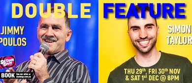 Stand Up Comedy With Simon Taylor & Jimmy Poulos