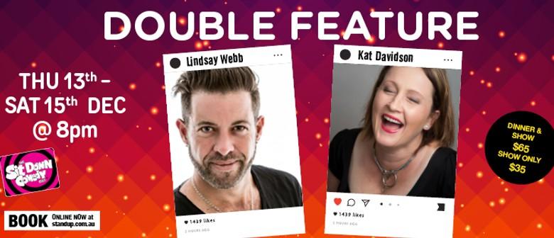 Stand Up Comedy With Kat Davidson & Lindsay Webb