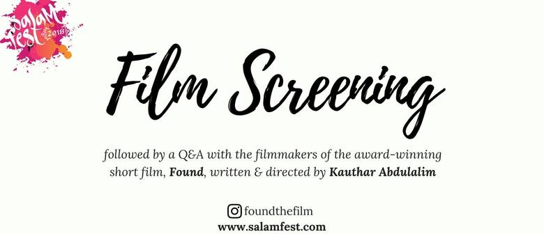 Film Screening – Found