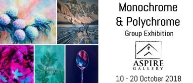 Monochrome & Polychrome Group Exhibition