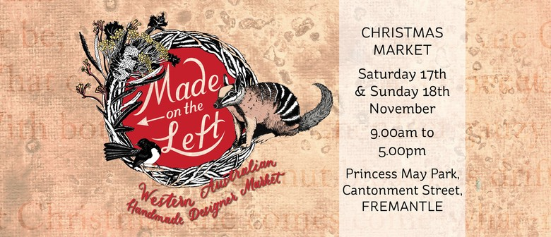 Made On the Left Christmas Markets Are Back