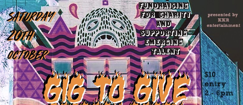 Gig to Give Party – Charity Fundraiser