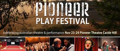 Pioneer Play Festival