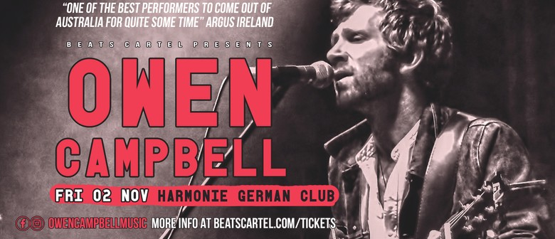 Owen Campbell – Take Your Medicine Tour