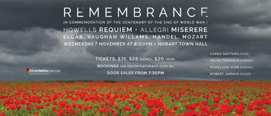 Allegri Ensemble – Remembrance