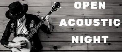 Open Acoustic Night Thursdays