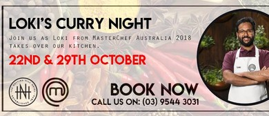 Masterchef's Loki's Curry Night