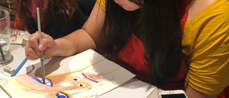 Watercolours Beginners Painting Class