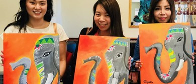 Kids Friendly Painting Class – Paint & Pancakes