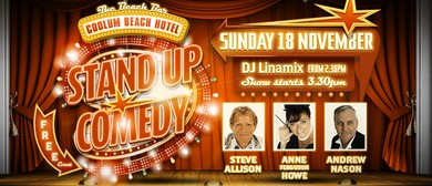 Stand Up Comedy – Starring Steve Allison