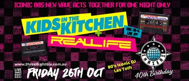 Kids In the Kitchen + Real Life - 80's Night
