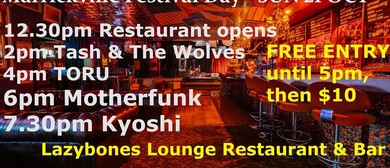 Kyoshi, Motherfunk, Toru and Tash And The Wolves
