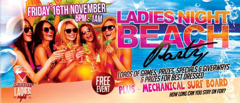 Ladies Night Beach Party