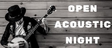 Open Acoustic Night Thursdays