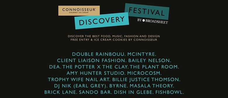 Connoisseur Discovery Festival by Broadsheet