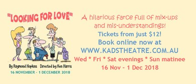 Looking for Love – The Hilarious Farce By Raymond Hopkins