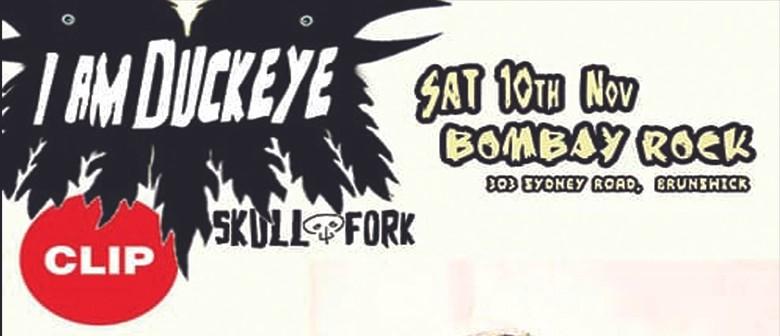 I am Duckeye with Clip & Skull Fork