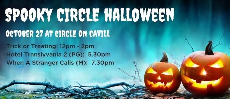 Spooky Circle Halloween Movie Screening