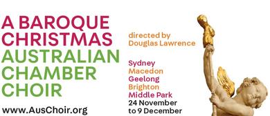 A Baroque Christmas – The Australian Chamber Choir