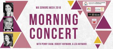 WA Seniors Week 2018 Morning Concert