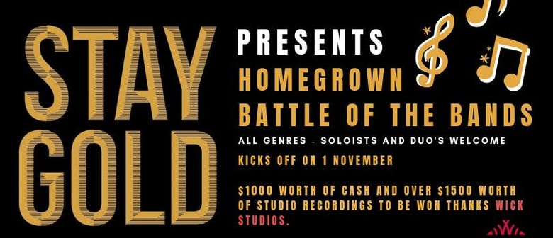 Homegrown Battle of The Bands – Heat Three