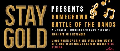Homegrown Battle of The Bands – Heat Five