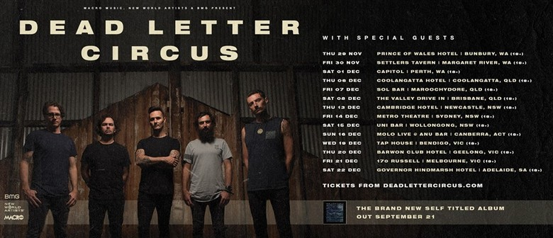 Dead Letter Circus With Special Guests