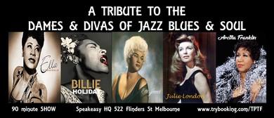 Dames & Divas of Jazz Blues & Soul