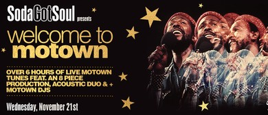 Soda Got Soul Presents Welcome to Motown