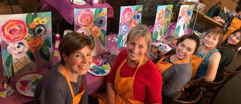Embrace the Artist Within – Pub Painting Class – Abstract Ho