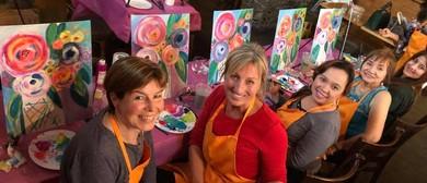 Pop Up Painting Class – Australian Christmas