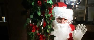 Santa In the Cellar