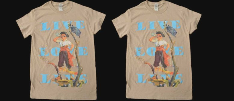 David Bromley Designed Limited Edition Pirate Boy T-shirt
