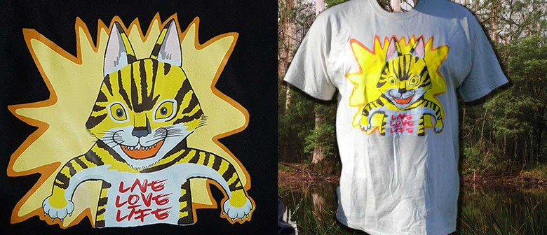 David Bromley Design Limited Edition T-shirt Tiger