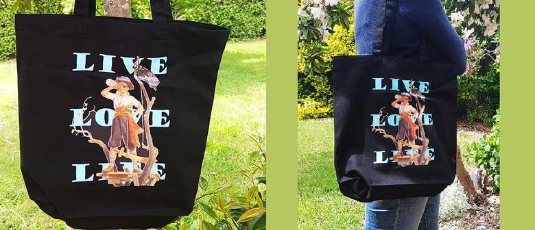 David Bromley Designed Canvas Bags