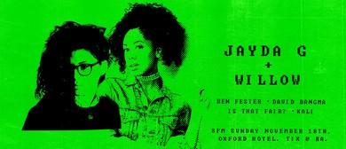 Picnic presents Jayda G plus Willow