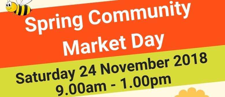 Spring Community Market Day