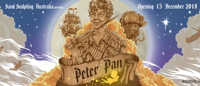 Sand Sculpting Australia – Peter Pan