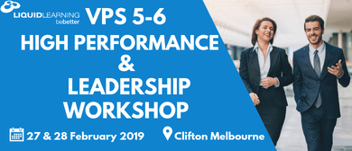 VPS 5–6 High Performance & Leadership Workshop