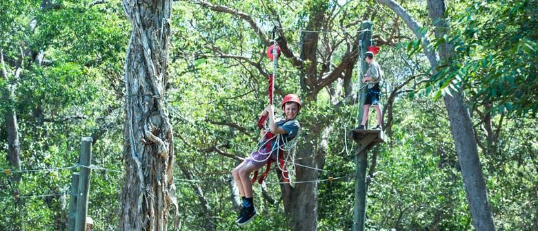 Exciting outdoor adventure drop off program for kids!