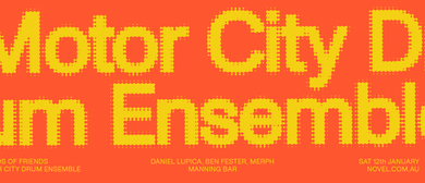 Friends of Friends With Motor City Drum Ensemble