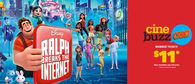 Cinebuzz Crew Advance Screening – Ralph Breaks the Internet