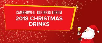 Camberwell Business Forum: 2018 Christmas Drinks