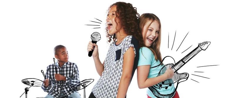 Kids Rock Out – Air Guitar Workshop