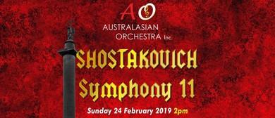 Australasian Orchestra: Shostakovich Symphony 11